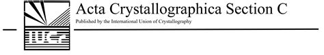 acta crystallographica section e iucr handbook for co editors