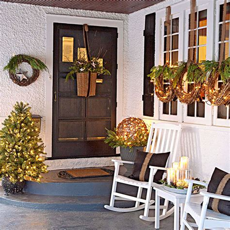 better homes and gardens christmas decorating ideas outdoor holiday decorating brass and whatnots