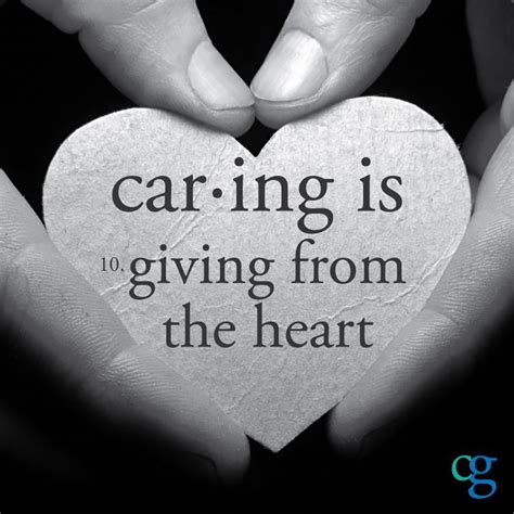 Is Caring by Quotes About Caring Hearts Quotesgram