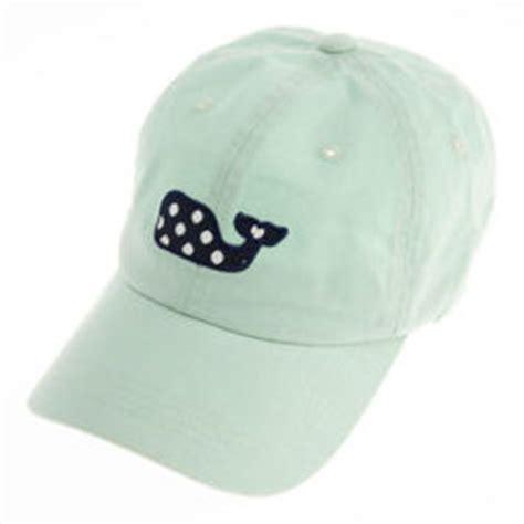 womens hats polka dot whale baseball hat from vineyard vines