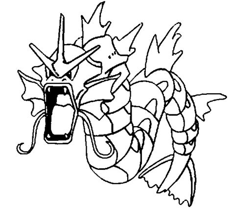 pokemon coloring pages gyarados coloring pages pokemon gyarados drawings pokemon