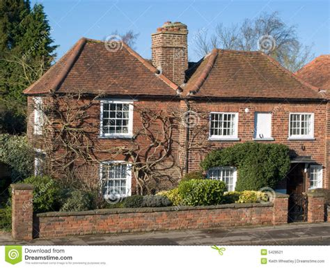Small 1 Story House Plans old english cottage stock image image 5428521