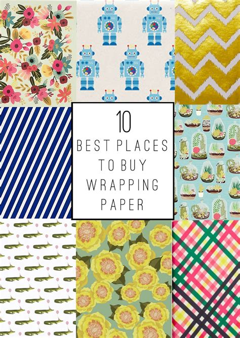 tell the 10 best places to buy wrapping paper tell