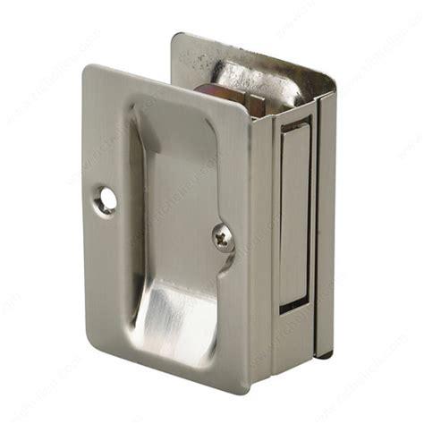Pocket Door Pull With Passage Handle Rectangular Glass Pocket Door Hardware