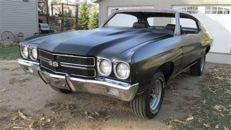 chevrolet chevelle ss   speed coupe project  sale