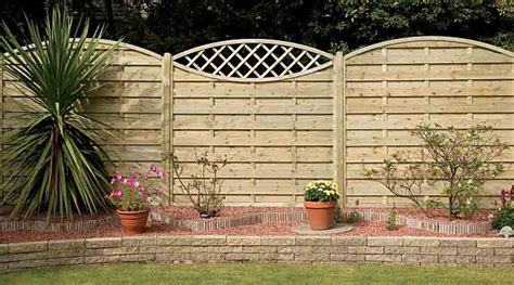 Wooden Garden Trellis Panels A Guide To Fence Panels Choosing The Right Products