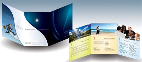 three page brochure template creare brochure formati e modelli starbytes it
