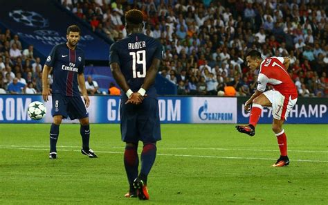 alexis sanchez psg uefa chions league match day 1 tuesday recap