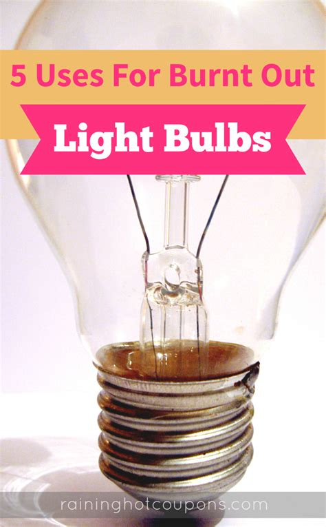 hot to tell which lightbulb is out 5 uses for burnt out lightbulbs