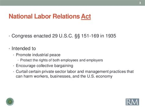 national labor relations act section 8 national labor relations board update