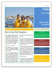 microsoft word newsletter template newsletter templates for microsoft word