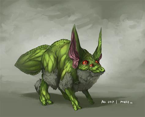 it monster monster no 047 by onehundred monsters on deviantart