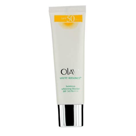 Olay White Radiance Spf 50 protetor solar white radiance luminous whitening blocker