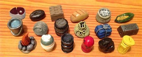 Mini Wooden Board Games Token Custom Design Adult Board   resource token treasure chests