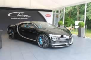 Chiron Bugatti Goodwood 2016 Black Bugatti Chiron Gtspirit