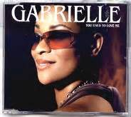 giiero gabriele love me gabrielle cd single at matt s cd singles