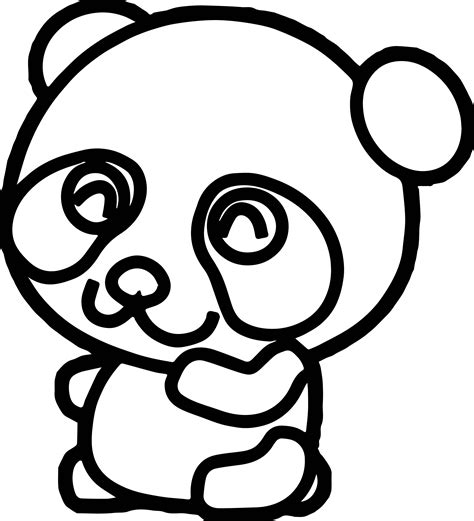 panda bear coloring pages coloringsuite com