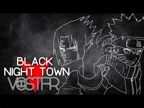 black night town fr sub romaji naruto shippuden ed 27 black night town