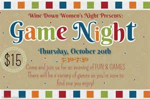 game night flyer template postermywall