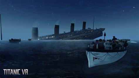 titanic boat scene pic titanic vr on steam
