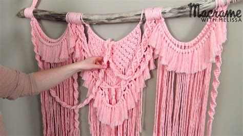 Macrame Wall Hanging Tutorial - macrame with macrame projects and tutorials with