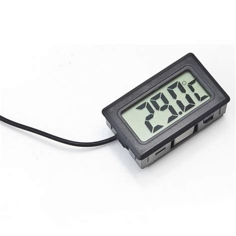 Termometer Buat Aquarium digital thermometer with probe for aquarium length 1m