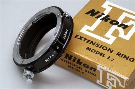 Terlaris Extension Ring For Nikon Original nikon f extension ring model e2