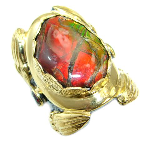 Opal Mexico 6 485 Ct jewelry rings
