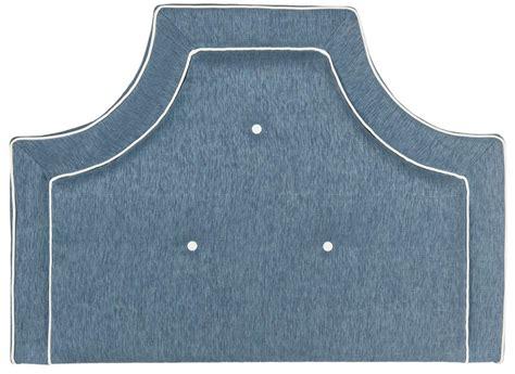 denim headboard tallulah denim blue white headboard headboards