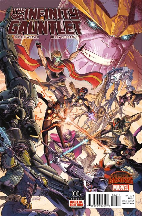 the infinity gauntlet preview the infinity gauntlet 4 all comic