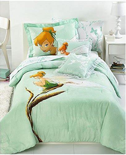 disney tinkerbell tink watercolor full size bedding set