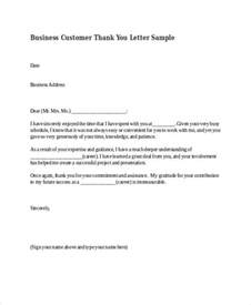 sle business thank you letter sle contract business