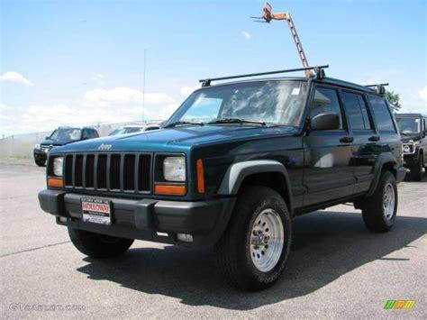 1997 emerald green pearlcoat jeep 4x4 14056717 gtcarlot car color galleries