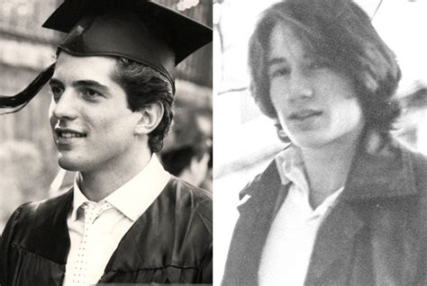 Jfk by John F Kennedy Jr In 1978 And David Duchovny In 1978 At