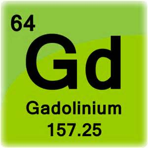 Periodic Table Square Gadolinium Element Cell Science Notes And Projects