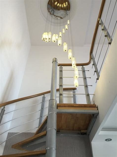 k9 staircase lights rod spiral ceiling light