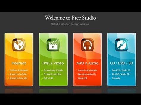 free studio converting all files free screen recorder