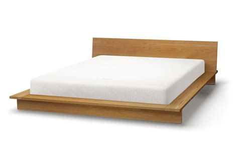 Oregon Low Platform Bed Solid Wood Natural Bed Co