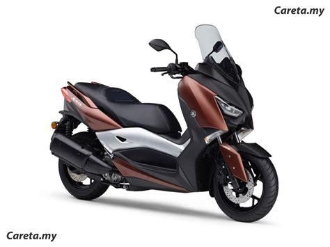 hong leong yamaha lancar skuter modern xmax  rm
