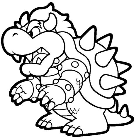 super mario coloring pages to print