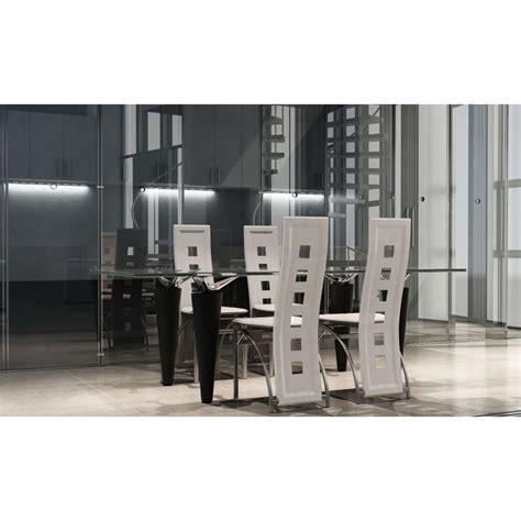 esszimmerstühle niederlande esszimmer st 252 hle 4er set wei 223 stahl kunstleder g 252 nstig