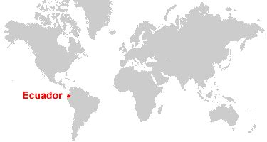 where is ecuador on the world map ecuador map and satellite image