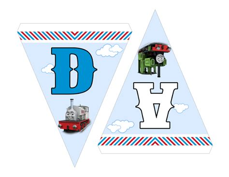 thomas and friends printable birthday banner thomas and friends happy birthday banner bunting flags