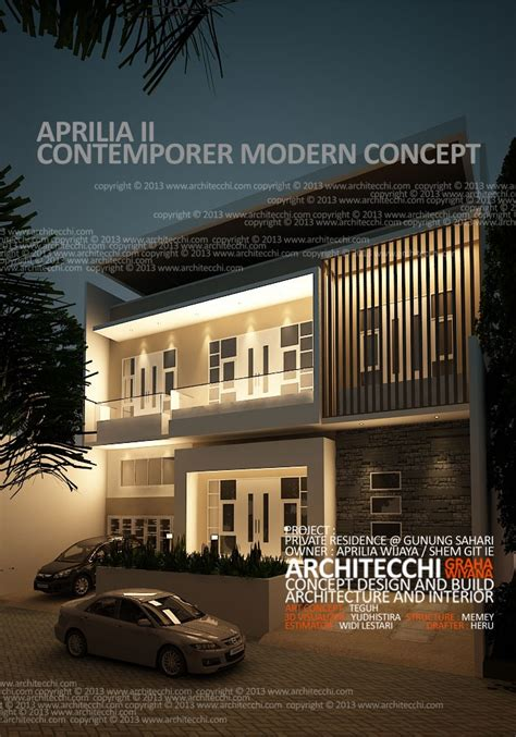 desain rumah lebar 5 meter 213 best images about indonesia modern contemporary homes