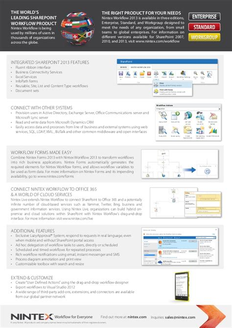 nintex workflow sharepoint 2013 nintex workflow 2013 for sharepoint from atidan