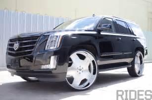 Cadillac On 30 Inch Rims 2015 Cadillac Escalade On 30 Inch Forgiato Wheels Rides