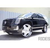 2015 Cadillac Escalade On 30 Inch Forgiato Wheels  Rides