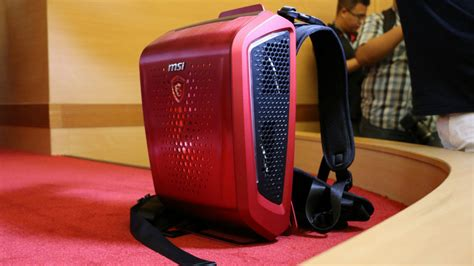 Vr Laptop backpack vr pcs are now a thing msi hp and zotac unveil new models ars technica