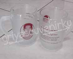 Tatakan Gelas Motif Binatang Souvenir Hkn227 griya souvenir 187 187 gelas jumbo tangkai