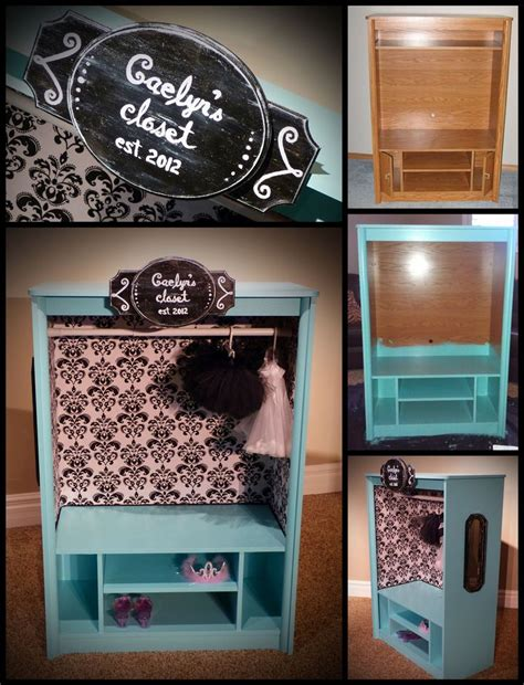 Diy Dress Up Closet by Dress Up Closet Caelyn S Closet From Start To Finish Dresses Closets Closets Ideas Diy